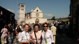 45anna sophie and silvana at assisi.jpg